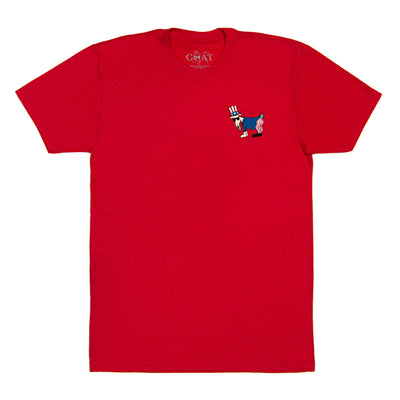 Uncle Sam T-Shirt::Red