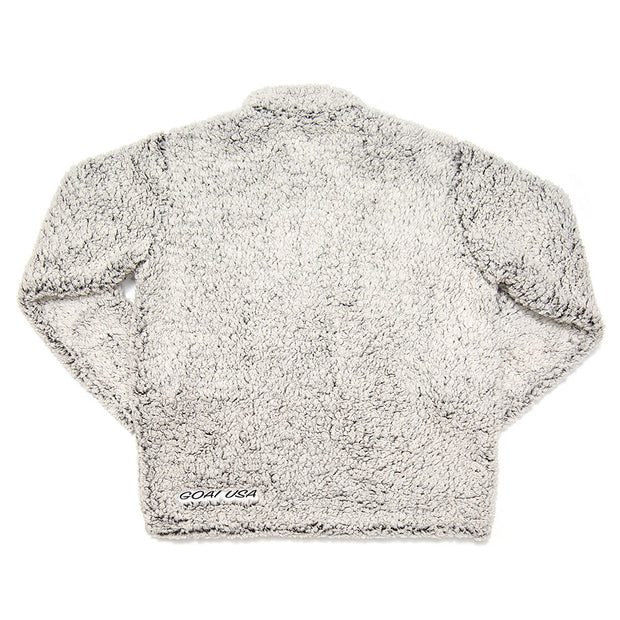 Sherpa Fleece::Heather Gray