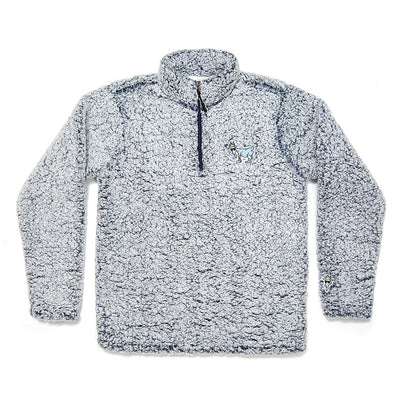Sherpa Fleece::Heather Blue