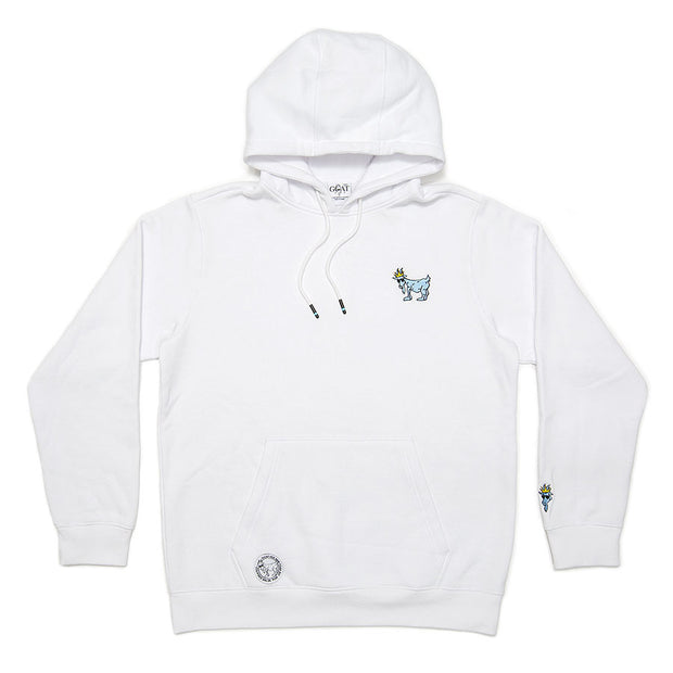 Hooded Sweatshirt::White