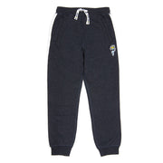 Fleece Joggers (with Stripe)::Navy