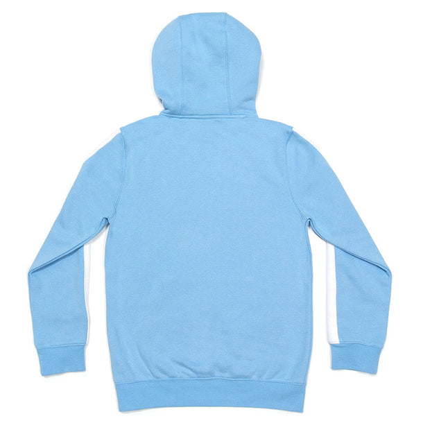 Hooded Sweatshirt (with Stripe)::Carolina Blue