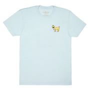 Banana T-Shirt::Ice Blue