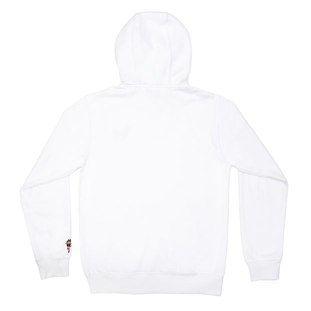 Freedom Hooded Sweatshirt::White