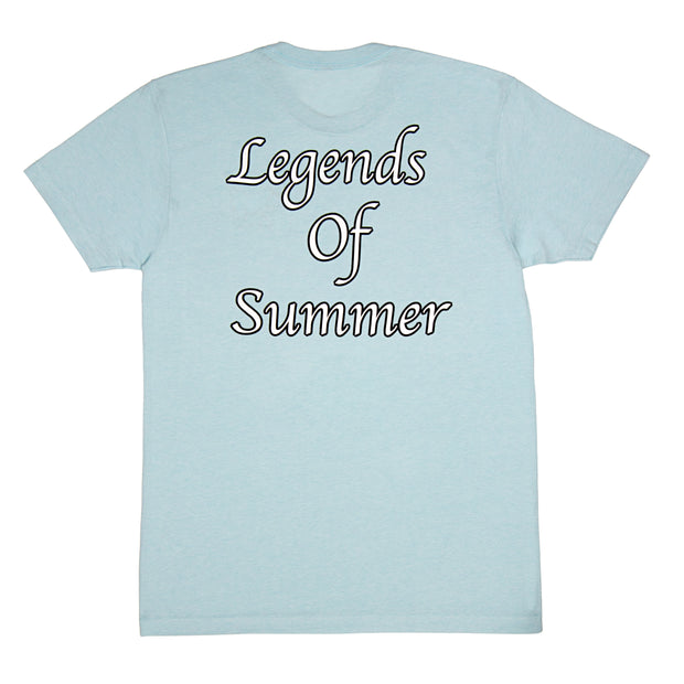 Legends of Summer T-Shirt:: Ice Blue