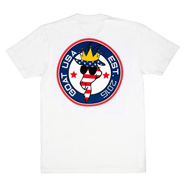 Freedom Patch T-Shirt:: White