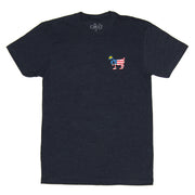Freedom Patch T-Shirt:: Navy
