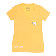 OG V-Neck T-Shirt::Banana Cream