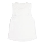 Signature Logo Tank Top::White