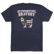 Red Line T-Shirt::Navy