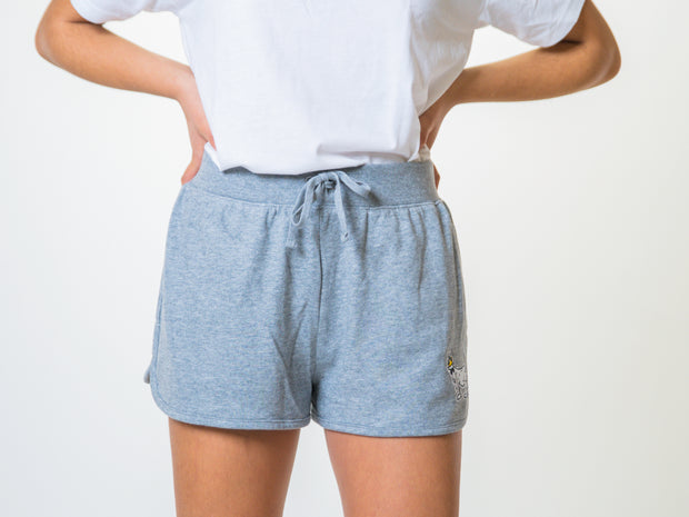 Women's Relaxed Sweat Shorts::Gray