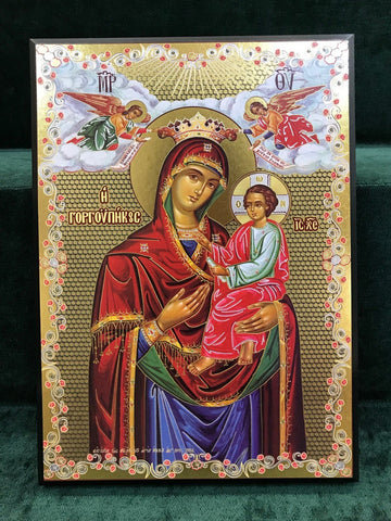 Queen of the World Icon - Large - Gerken's Religious Supplies