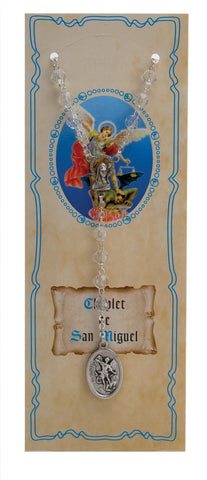St. Michael Chaplet in Spanish - Gerken's Religious Supplies