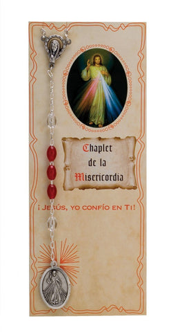 Divine Mercy Chaplet in Spanish - Gerken's Religious Supplies