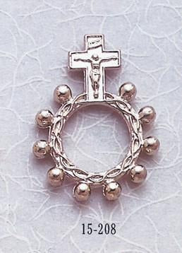 Silver Rosary Ring - Gerken's Religious Supplies