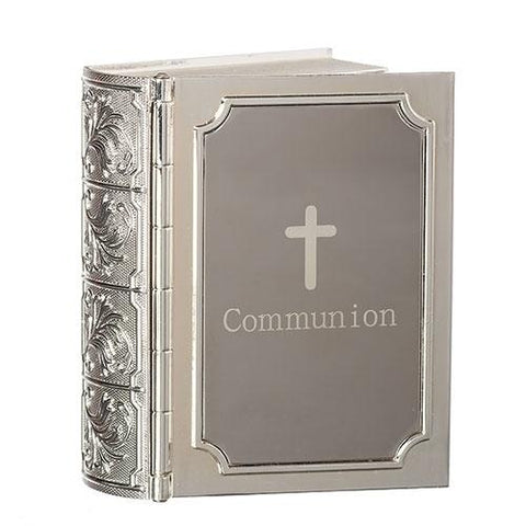 Bible Shaped First Communion Keepsake Box - Gerken's Religious Supplies