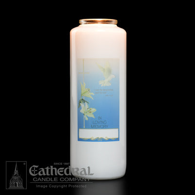 In Loving Memory 6 Day Candle