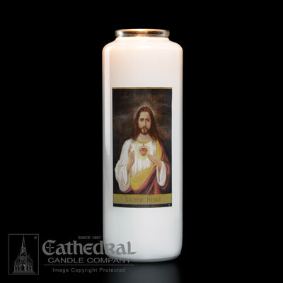 Sacred Heart 6 Day Candle