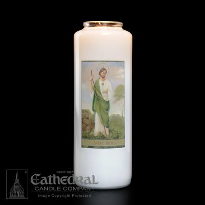 St Jude 6 Day Candle - Gerken's Religious Supplies
