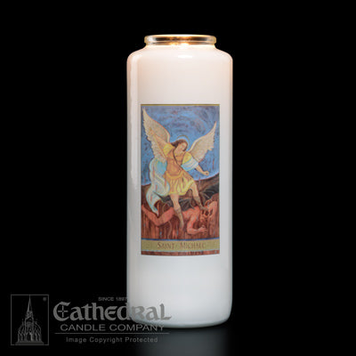 St Michael 6 Day Candle