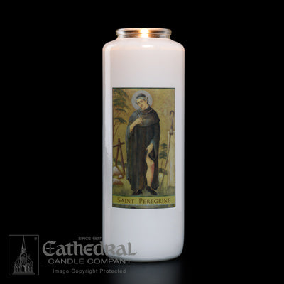 St Peregrine 6 Day Candle
