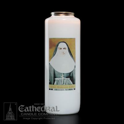 St Marianne Cope 6 Day Candle - Gerken's Religious Supplies