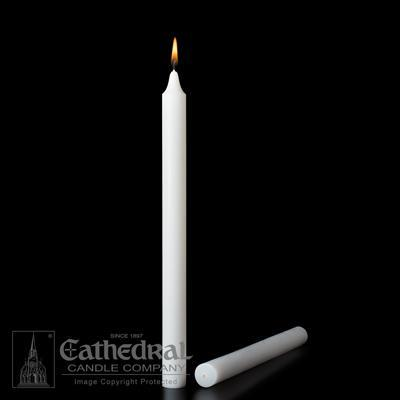 "1-1/8"" X 9-3/8"" Stearine Candles - Gerken's Religious Supplies"