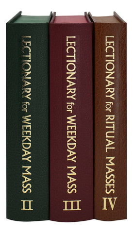 Chapel Edition Lectionary Set of 3 for Weekday Masses - Gerken's Religious Supplies