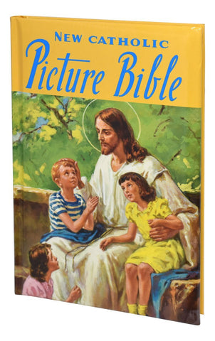 Catholic Picture Bible - Hard Cover - Gerken's Religious Supplies