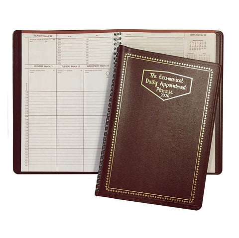 Ecumenical Daily Appointment Planner - 2021 - Gerken's Religious Supplies