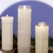14 Day Plastic Offering Candle - Gerken's Religious Supplies