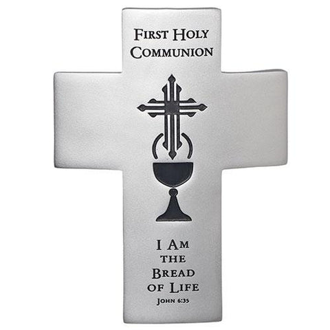 Bread of Life First Communion Wall Cross - Gerken's Religious Supplies
