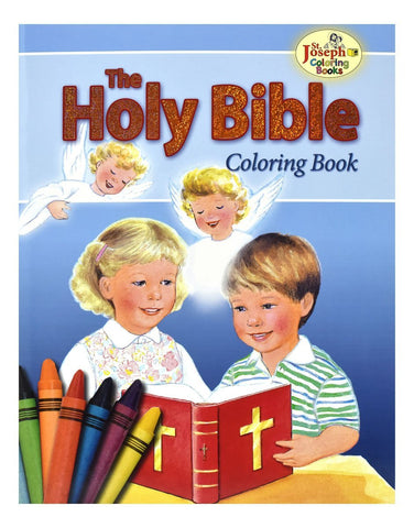 Holy Bible Coloring Book - Gerken's Religious Supplies