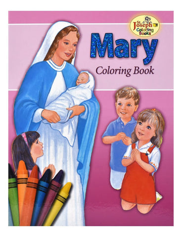 About Mary Coloring Book - Gerken's Religious Supplies