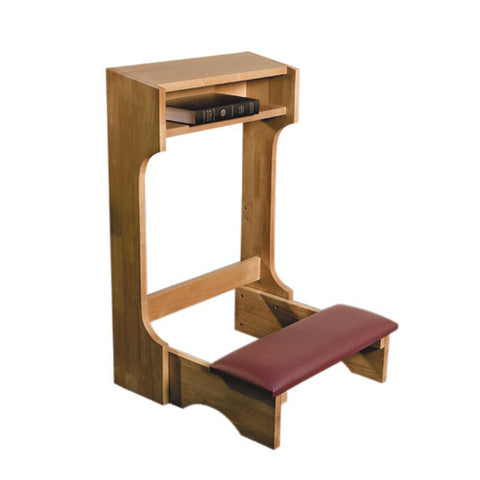 Padded Kneeler Pecan Finish