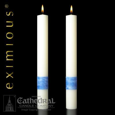 "Ascension Side Candles 3"" X 12"" - Gerken's Religious Supplies"