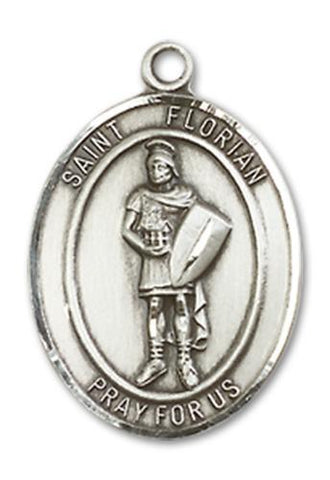 St. Florian Sterling Silver Medal