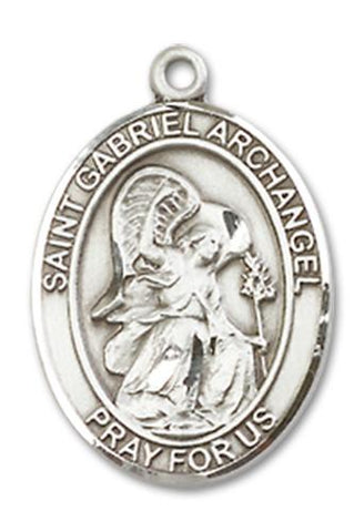 St. Gabriel the Archangel Sterling Silver Medal