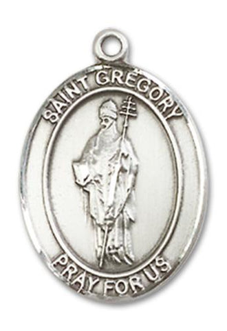 St. Gregory the Great Sterling Silver Medal