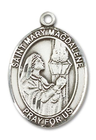 St. Mary Magdalene Sterling Silver Medal