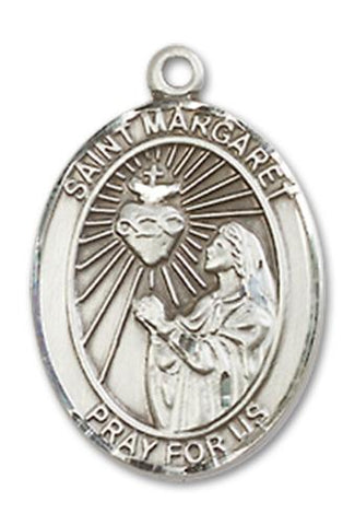 St. Margaret Mary Alacoque Sterling Silver Medal