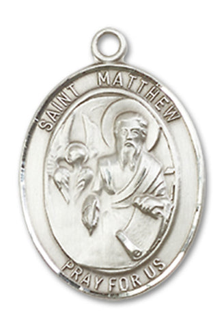 St. Matthew the Apostle Sterling Silver Medal