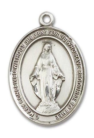 Miraculous Sterling Silver Medal