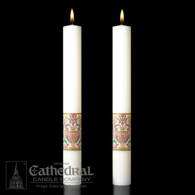 "Investiture Side Candles 2"" x 12"" - Gerken's Religious Supplies"