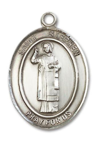 St. Stephen the Martyr Sterling Silver Medal
