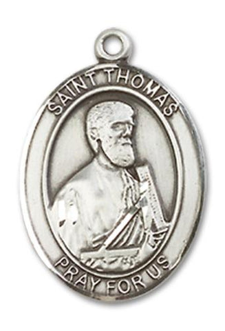 St. Thomas the Apostle Sterling Silver Medal