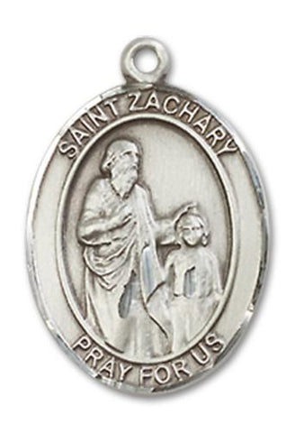 St. Zachary Sterling Silver Medal