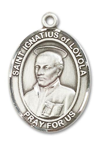 St. Ignatius of Loyola Sterling Silver Medal