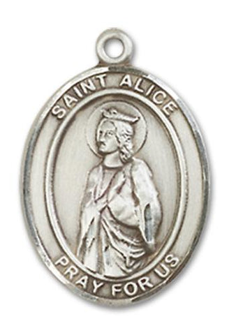 St. Alice Sterling Silver Medal