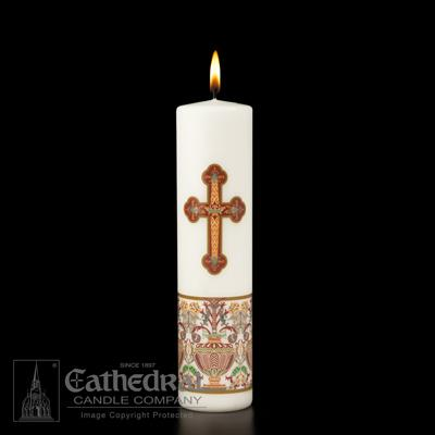 Investiture Pillar Christ Candle - Gerken's Religious Supplies